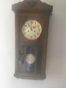 Gustav Becker vintage  Wall Clock