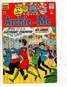 ARCHIE AND ME No 15 with VERONICA, BETTY, JUGHEAD and MR. WEATHERBEE
