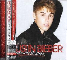 Justin Bieber Under The Mistletoe Japanese CD album (CDLP) promo UICL-1115