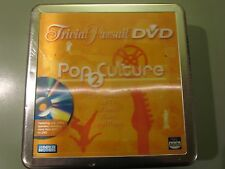 TRIVIAL PURSUIT POP CULTURE 2 2007 DVD BOARD GAME TIN NEW FACTORY SEALED