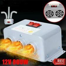12V Heater Fan Warmer Defroster Demister Windscreen For Car Truck 800W