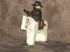 LEGO Cowboy with Horse, Saddle & 2 Pistols