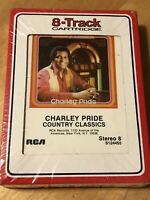 CHARLEY PRIDE Country Classics 8 Track Tape Cartridge BRAND NEW & RARE Charlie !
