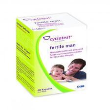 CYCLOTEST fertile man Mikronährstoffe Kapseln 60 St PZN 6834775