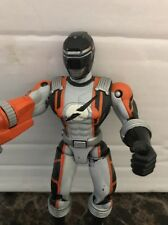 2005 Bandai Power Ranger Overdrive Flashing Chest Rotating Gun