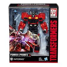 Transformers Power of The Primes Inferno Voyager Class Action Figure