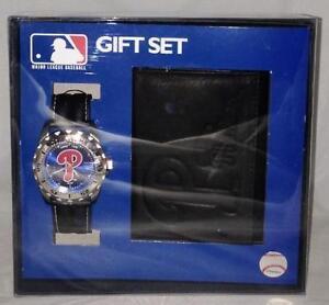 MLB Philadelphia Phillies Game Time Watch & Wallet Gift Set Brand New