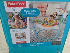 Fisher Price Jumperoo Animal Baby Activity Center. Ffj00-9993