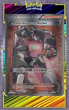 Méfaits de la Team Rocket Full Art -XY10- 124/124 -Carte Pokemon Neuve Française