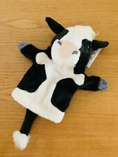New The Puppet Company Cow With Tail Glove Puppet