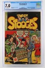 Three Stooges #1 - CGC 7.0 FN/VF - St. John 1949 - 1st App Three Stooges!