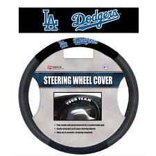 MLB POLY-SUEDE MESH STEERING WHEEL COVER LOS ANGELES DODGERS