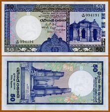Sri Lanka / Ceylon, 50 Rupees, 1982, P-94, UNC > colorful