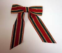 Lot of 24 Pieces - Large Fabric Christmas Ribbon + FREE SHIPPING!