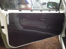 BMW E36 Coupe 1x, M3, 328, 325 efecto de carbono, Tarjeta De Puerta De Aluminio O Negro Brillante