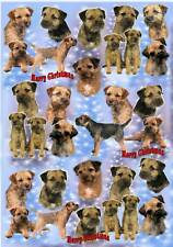 Border Terrier Christmas Wrapping Paper By Starprint - Auto combined postage