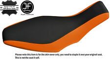GRIP & ORANGE VINYL CUSTOM FITS POLARIS PREDATOR 500 03-07 SEAT COVER