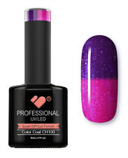 CH100 VB Line Colour Changing Purple Metallic - gel nail polish - super gel