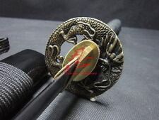 "30"" battle ready dragon tsuba japanese wakizashi sword very sharpened"