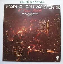 MANHATTAN TRANSFER & GENE PISTILLI - Excellent Condition LP Record MFP 50387