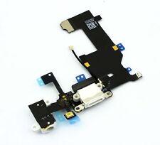 DOCK CONNECTOR iPhone 5 WEISS Lightning Audio Jack Flex Cable Buchse NEU & OVP