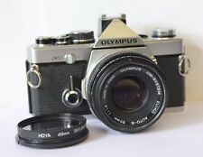 Olympus OM-2n 35mm SLR Film Camera with 50mm Lens. Free Warranty