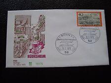 ALLEMAGNE (rfa) - enveloppe 1er jour 15/3/1973 (B8) germany