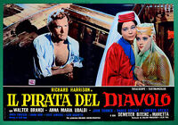 T58 FOTOBUSTA THE PIRATE OF THE DIAVOLO RICHARD HARRISON WALTER BRANDI UBALDI 1