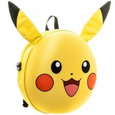Official Pokemon Pikachu 3D Moulded Backpack w/ Ears