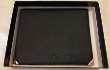 ALEXANDER WANG Prisma iPad Custodia in Pelle Nero e Oro Rosa Nuovo Rrp £ 312