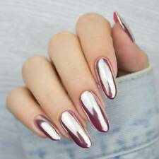 0.5g Nail Glitter Powder Magic Mirror Silver Smooth Pigment Dust Manicure Chrome