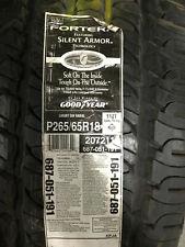 1 New 265 65 18 Goodyear Fortera Silent Armor Tire