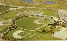1960s Atlanta Braves WEST PALM BEACH SPRING TRAIN STADIUM Postcard (Scarce) - NM