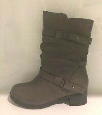 RIVERSOFT: Size: 39. (8.5). Stylish SOFT-Comfy MUSHROOM Side-Zip 4.5cm Heel-Boot
