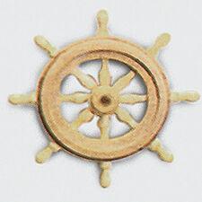"Model Shipways MS0366 Boxwood Steering Wheel 19/32"" (15mm) & Pedestal 1/Pack."