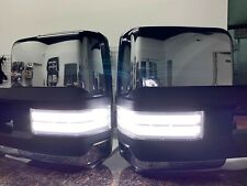 2014-18 Silverado / Sierra Tow Mirrors with white / amber switchback marker