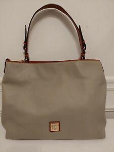 Dooney & Bourke Pebble Leather Large. Courtney Shoulder Bag