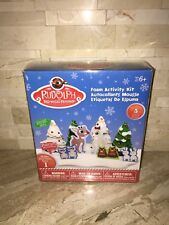 RUDOLPH THE RED NOSED REINDEER ARTS & CRAFT FOAM ACTIVITY KIT LIMITED EDITION