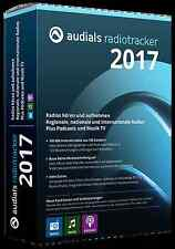 Audials Radiotracker 2017 Web Musicfinder ESD / Download  EAN 4023126118806