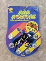 Vintage RAD ROLLORS 'BATMAN COLLECTION' Collectable Action Marbles RARE,MIP,1990