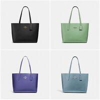 New Coach F31535 Avenue Tote Leather Handbag