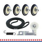 4581EL2002C Dryer Drum Roller Assembly Repair Kit Compatible with LG Kenmore photo