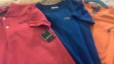 Polo, Izod & Lacoste Boys Shirts sz 6
