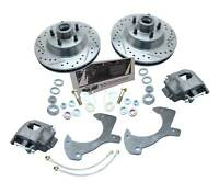 1957-64 FORD Galaxie Full size Ford Cars Disc Brake Kit Drilled/ Slotted Rotors
