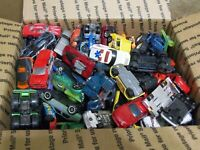 Hot Wheels/Matchbox Loose Diecast Box Lot Over 100 Cars per Box