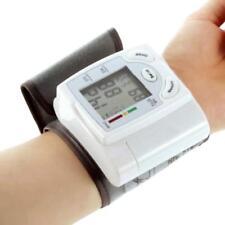 Automatic Blood Pressure Monitor Wrist Watch Machine Digital LCD Gauge Tester