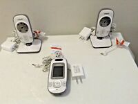 VTech Digital Video Baby Monitor with 2 Cameras and Automatic Night Vision