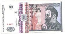 Romania  500 lei 1992    FDS  UNC      Pick 101 a     lotto 3484
