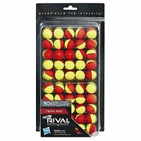 Brand New NERF Rival 50 x ROUND REFILL Pack For BLASTER High Impact YELLOW RED