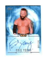 WWE Eric Young 2017 Topps Undisputed Blue On Card Autograph SN 93 of 199